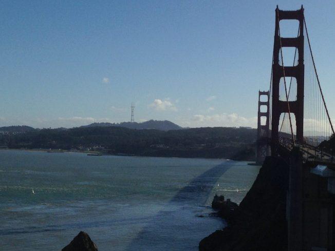 Vista Point San Francisco, Golden Gate Bridge