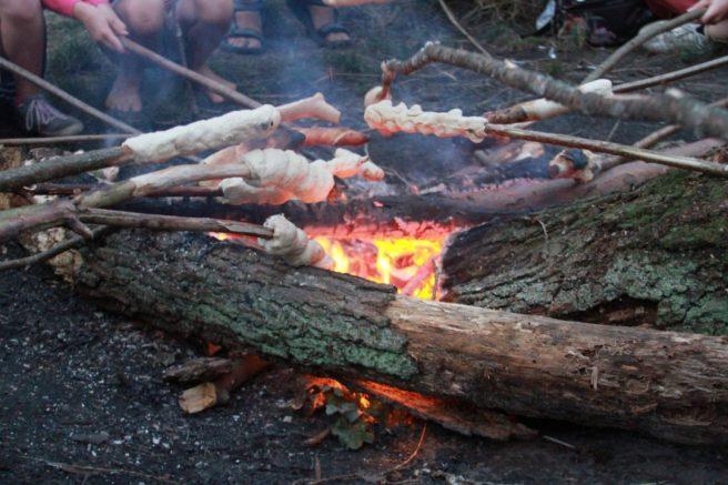 Stockbrot Rezept NaturCamping am Ellbogensee