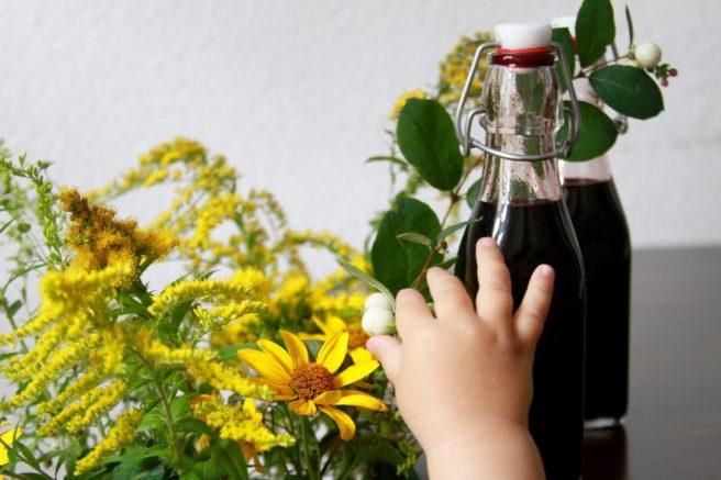 Rezept Holunderbeeren Balsamico