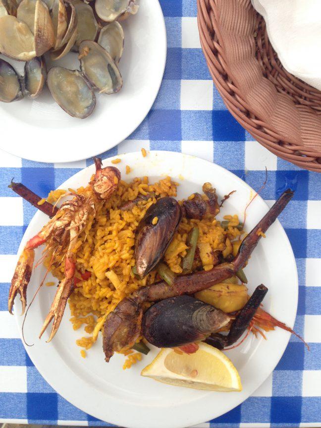 Mallorca Camp de Mar Paella